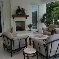 Contemporary Family Room by The Brenner Collection
