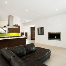 Contemporary Family Room by Richardson Residential