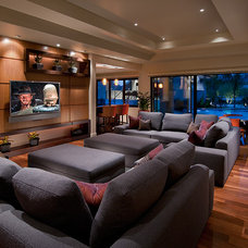 Contemporary Family Room by Ownby Design