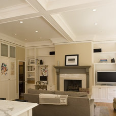 Traditional Family Room by V  & Company, Fine Builders