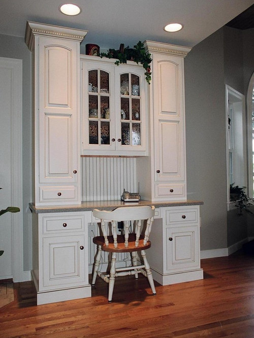 Painted And Glazed Hutch | Houzz