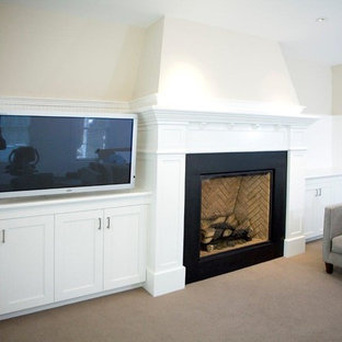 Painted Family Room
