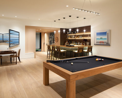 Inspiration For A Contemporary Game Room Remodel In Los Angeles