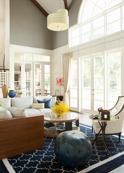 Fusion Family  Room by Jackson Paige Interiors, Inc.