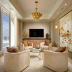 Lindaflora House - Modern - Family Room - Los Angeles - by ...