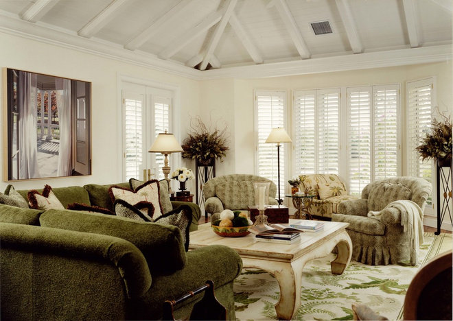 Traditional Family Room by Jeremy K Walter Architects