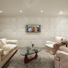 Midcentury Family Room by montycollins
