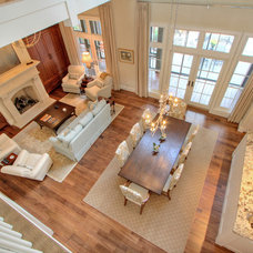 Traditional Family Room by Ellis Construction Co., Inc.