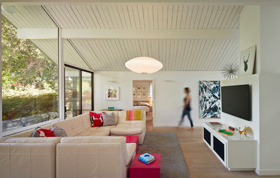 Houzz Tour: An Eichler's Interior Gets a Major Overhaul
