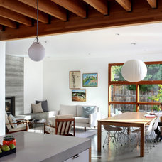 Contemporary Family Room by Arcanum Architecture