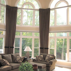 Traditional Family Room by Panache Designs