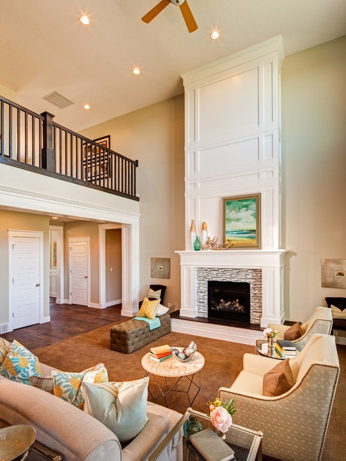 Tall Fireplace Houzz