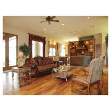 Mediterranean Family Room by Rob Sanders Designer - Custom Home/Remodel Design