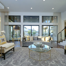 Contemporary Family Room by Triton Austin