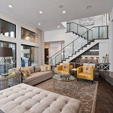 contemporary family room by Triton Austin-Construction Professionals