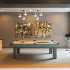 Magnolia: Mid-Century Modern - Midcentury - Family Room - Seattle - by ROM architecture studio