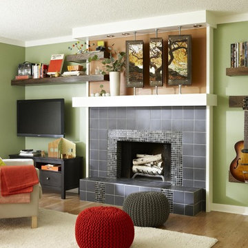Parent-Friendly Family Room