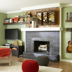 modern family room by Lowe's Home Improvement