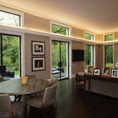 contemporary family room by Robert J. Neylan Architects, Ltd.