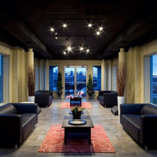 Contemporary Family Room by Kevin Bauman