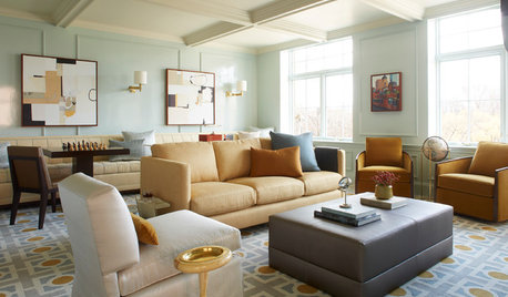 Houzz Tour:  Art Deco Influences With a Global Touch