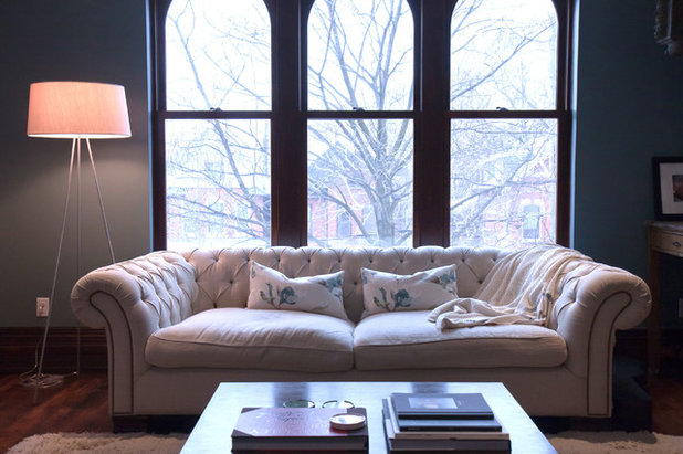 My Houzz An 1890s Victorian In Toronto Goes Modern And Open