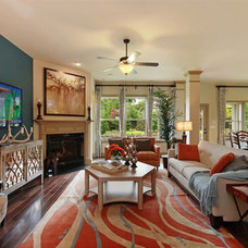 Contemporary Family Room by David Weekley Homes