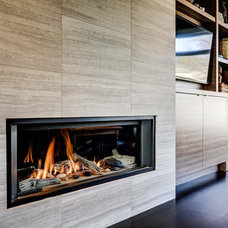 Contemporary Family Room by Bravehart Building