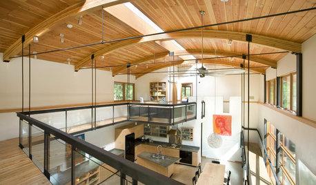 Offen, hell und großzügig: Das spricht für eine Galerie im Haus