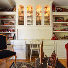 Farmhouse Family Room by Sarah Greenman