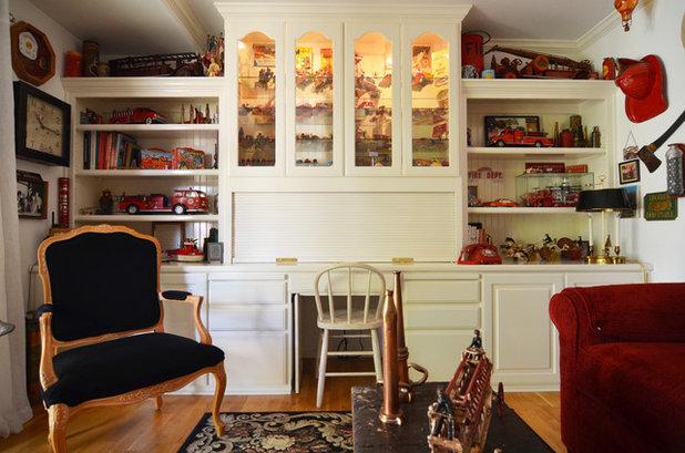 Farmhouse Family Room by Sarah Greenman