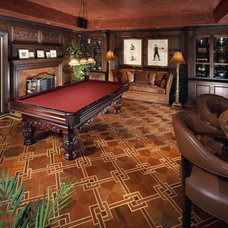 Traditional Family Room by ML Custom Interiors