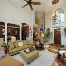 Mediterranean Family Room by PCL Interiors