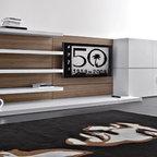 Italian Wall Systems Contemporary Living Room
