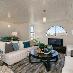 Idee per un soggiorno stile marino stile loft