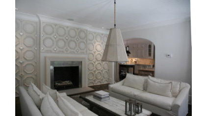 mediterranean family room by David Favero