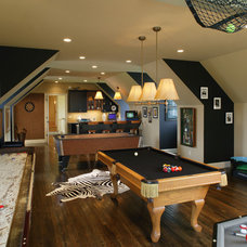 basement by Dewson Construction Company