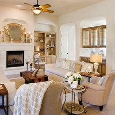 Modern Family Room by Sitterle Homes