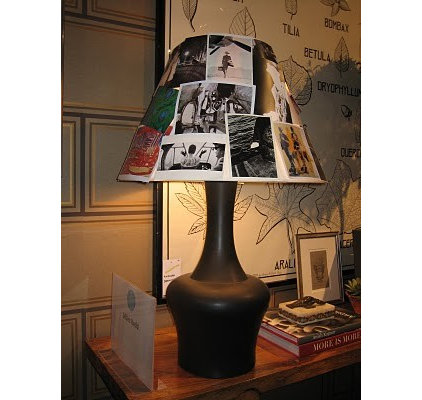 Traditional Family Room photo lamp shade