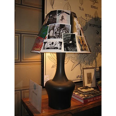 American Traditional Family Room photo lamp shade