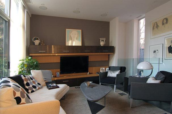 Modern Family Room by Belong