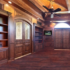 traditional home office by JL Automation, LLC