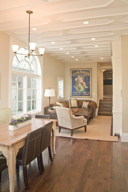 Traditional Family Room by Wm. F. Holland/Architect