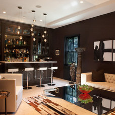 Contemporary Family Room by Balli Interior Design