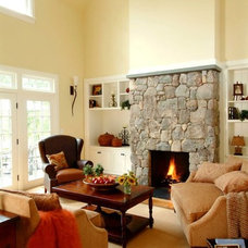 Traditional Family Room by Design Resource
