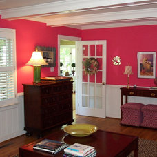 Traditional Family Room by Ben Dial/ Stedman House Richmond, VA.