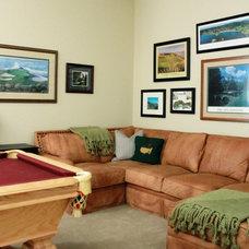 Traditional Family Room by Sanders Design Studio llc