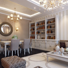 Traditional Family Room by Shmidt Studio