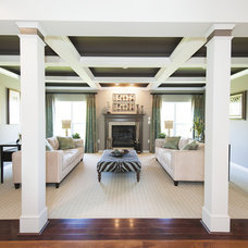 Traditional Family Room by Haverford Homes