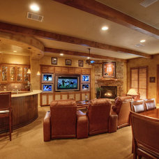 Family Room by Sterling Custom Homes